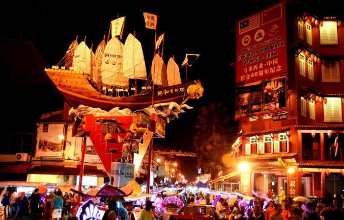 Night market in Jonker Street, Melaka, Malaysia - 41  likes (as of Sep 19, 2014, 11:59PM)